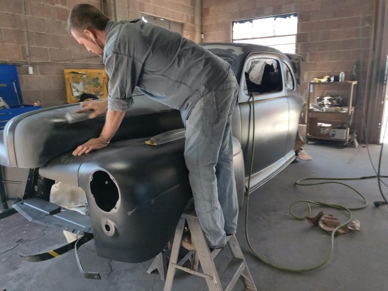 47 Ford Coupe Restoration